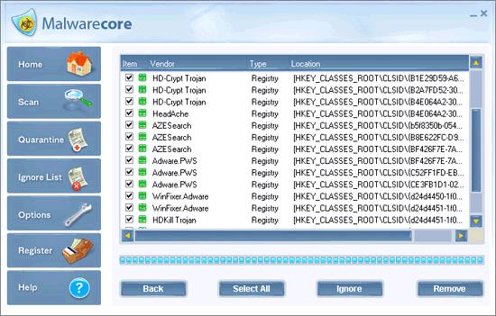 Liste de rogues (scarewares) et espiogiciels (spywares)